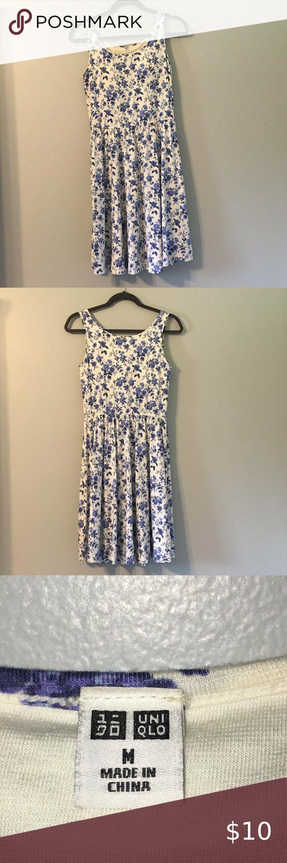 Uniqlo Sleeveless Dress W Built In Bra Comfy Summer Dresses Uniqlo Dresses Sleeveless Dress [ 1740 x 580 Pixel ]