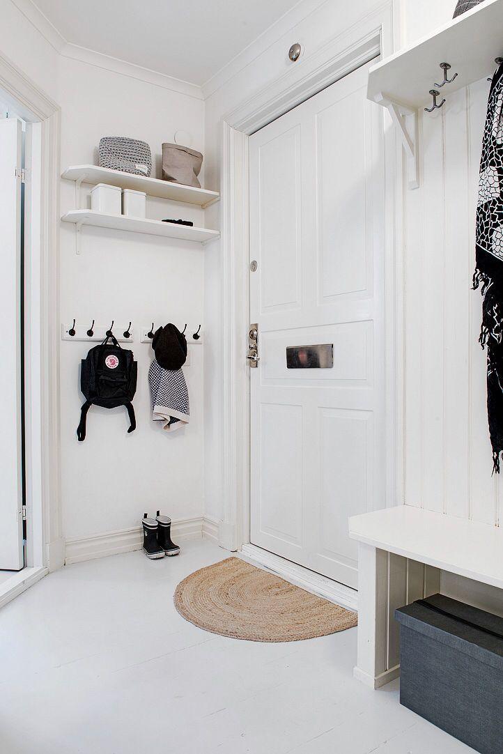Flur Schwarz Weiß Gestalten pin anetteshus com interior auf welcome home