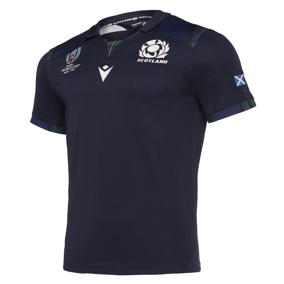 Rugby World Cup 2019 Men/'s Polo ShirtScotland