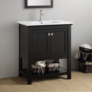 shop wayfair for all the best 30 inch bathroom vanities enjoy free rh pinterest com