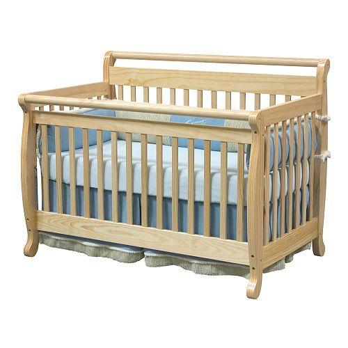 Davinci Emily 4 In 1 Crib With Toddler Rail Natural Davinci Babies R Us Cribs Baby Cribs Convertible Convertible Crib