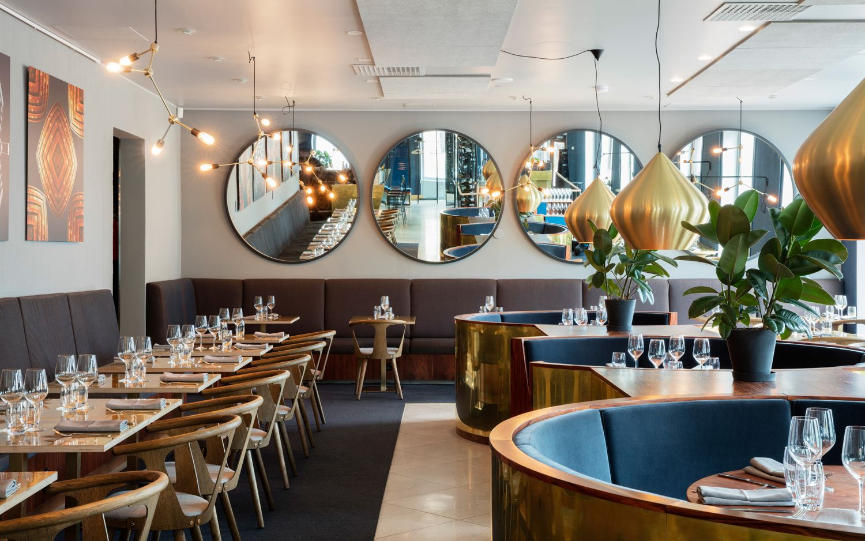 Interior of Helsinki restaurant and bar Roster