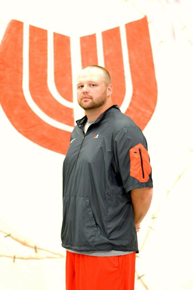 Justin Morsey is our Offensive Line Coach