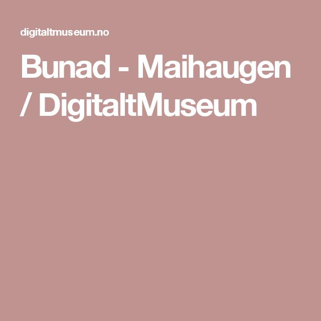Bunad Maihaugen DigitaltMuseum