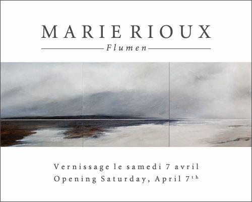 Marie Rioux's upcoming #art show at #Galerie Saint-Dizier! April 7th, 2012