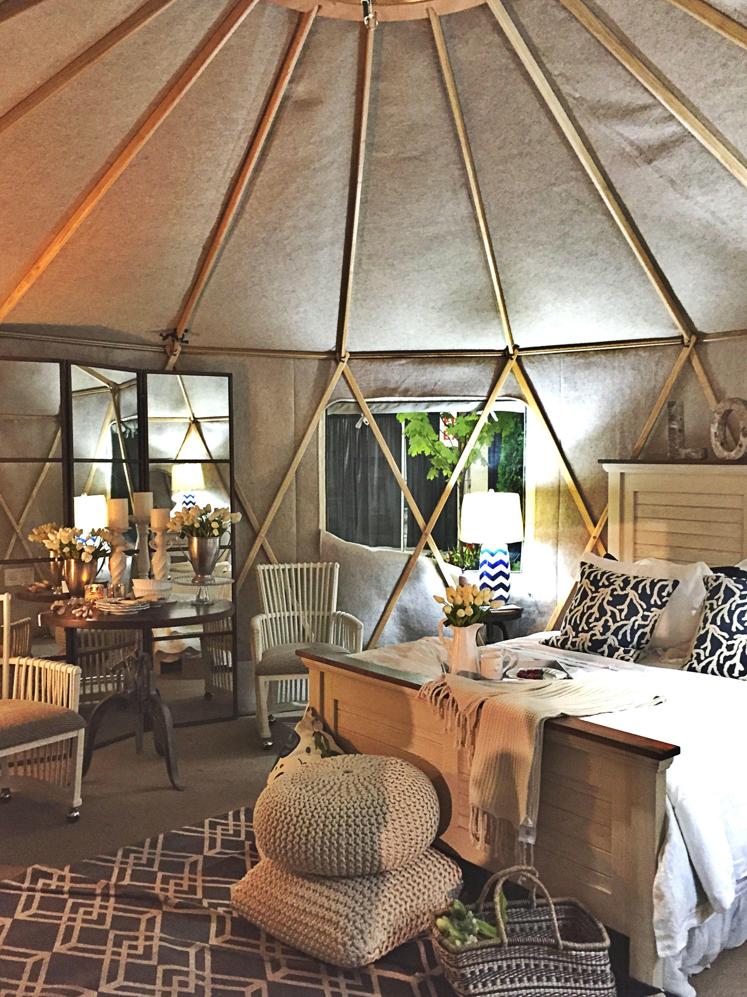 yurta ca and amazing interior look at the yurt that s what we rh pinterest com