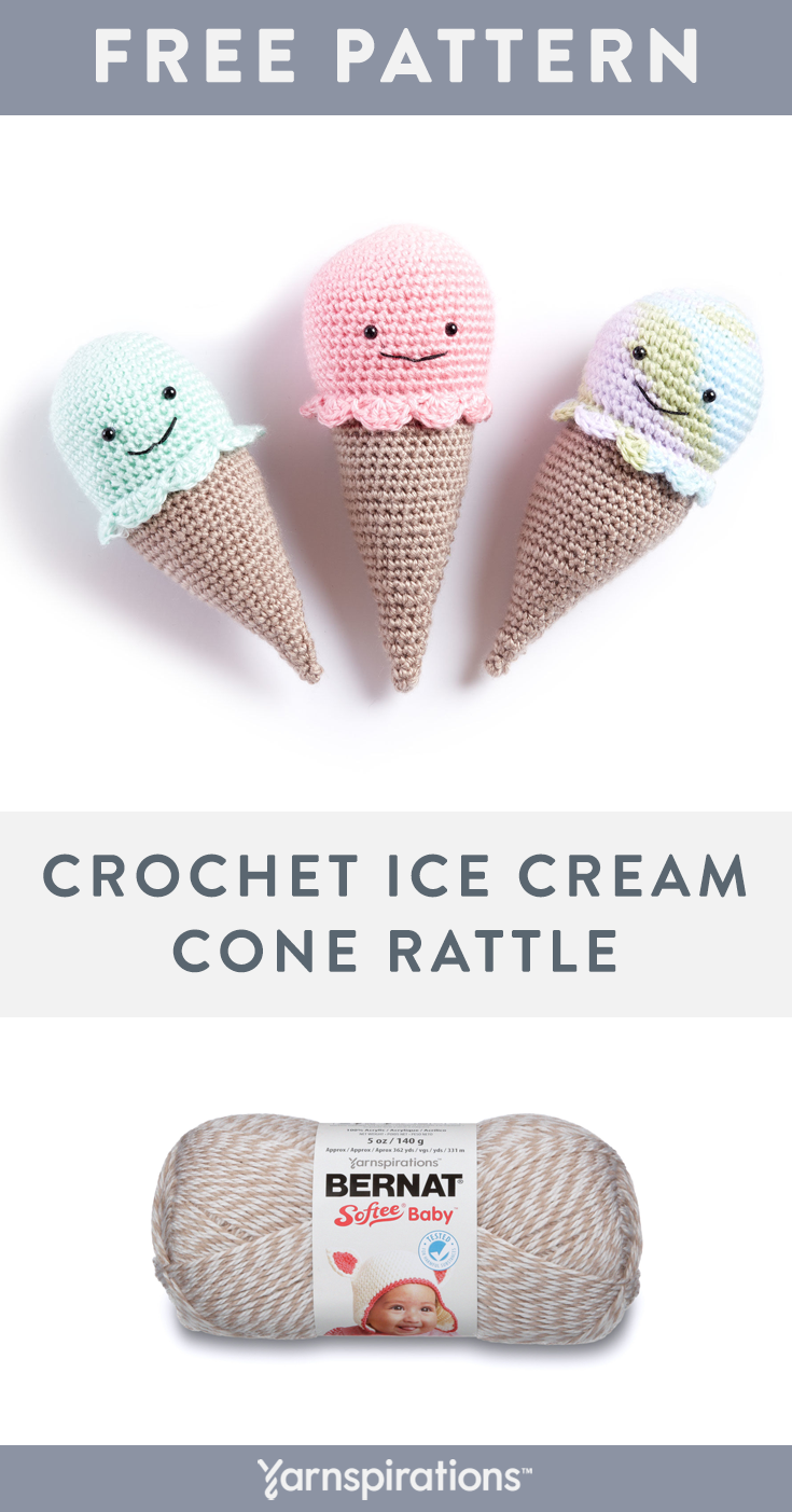 Honeycomb Ice Cream Cone – Crochet Pattern – My Creative Blog | 1403x735