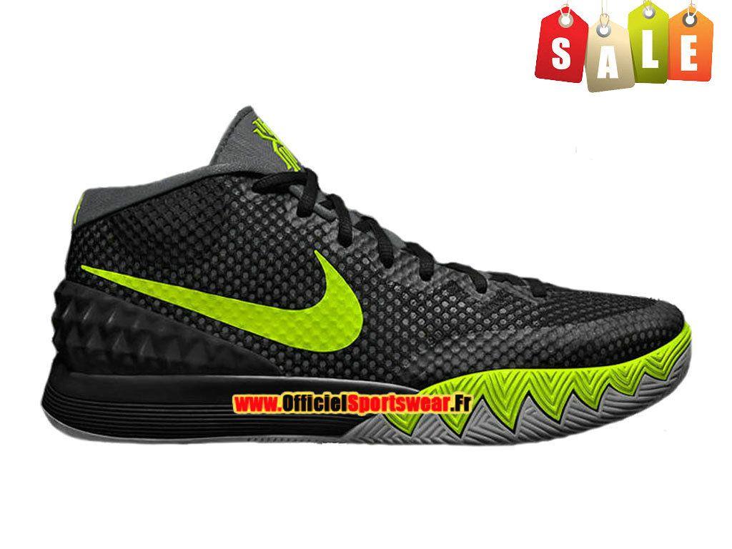 Nike Kyrie 1 iD Chaussure de Pour Basket ball Pas Cher Pour de Homme Noir dbde9a