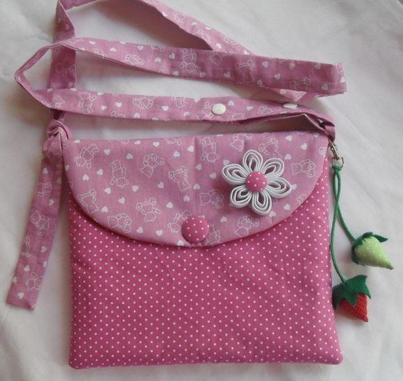 Bolsa Em Tecido Infantil Passo A Passo : Bolsa em tecido patchwork bag and clutch pattern