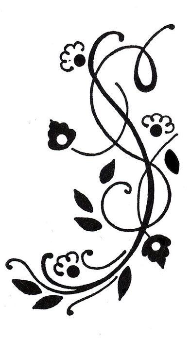 motif floral arabesque ref j 00658454 templates free. Black Bedroom Furniture Sets. Home Design Ideas