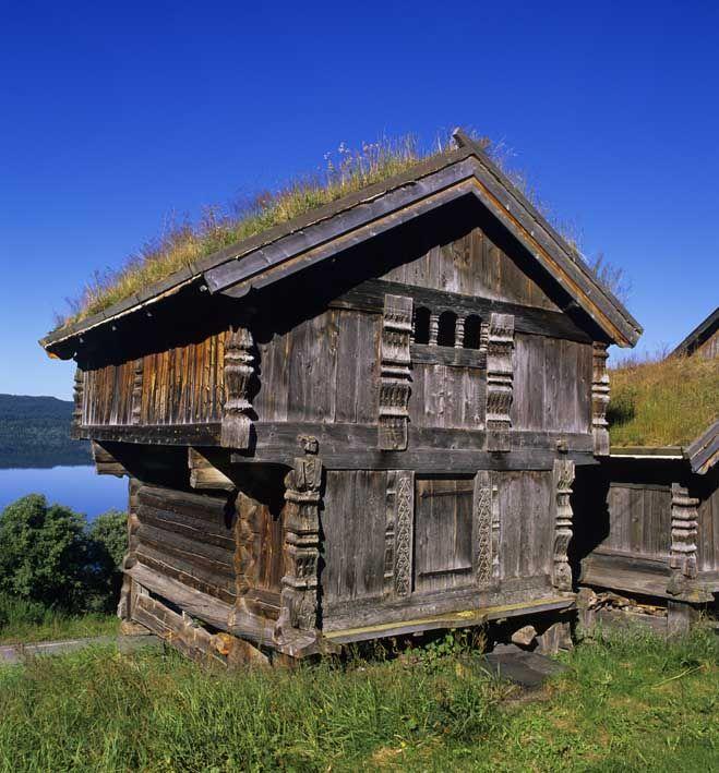 Stabbur Norwegian Architecture Viking House Visit Norway