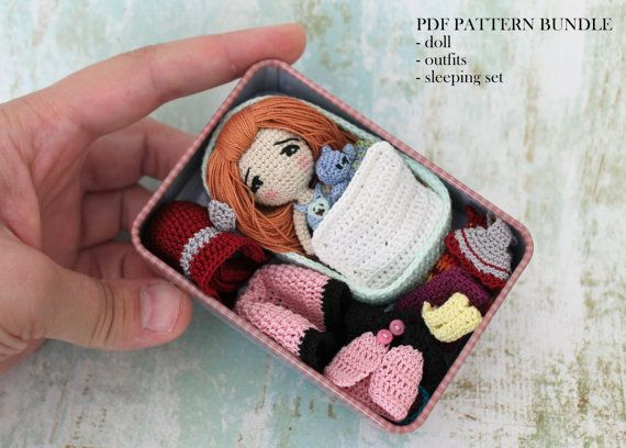 Amigurumi Doll PDF PATTERN Pattern BUNDLE by PinkMouseBoutique #instructionstodollpatterns