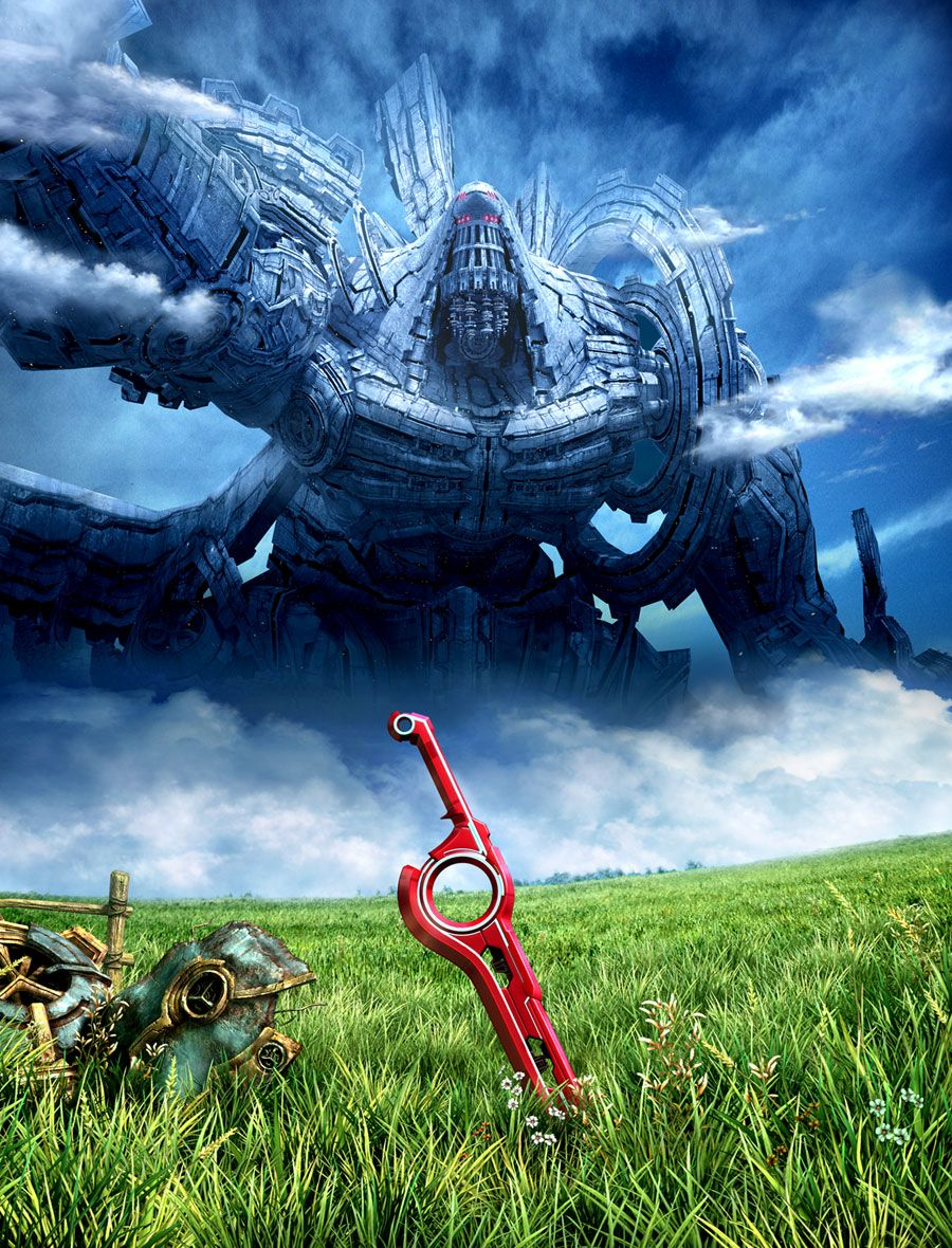 Xenoblade Chronicles Box Artwork Xenoblade Chronicles