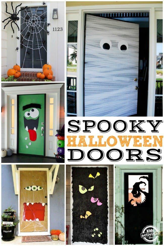 15 FUN HALLOWEEN FRONT DOORS Kids