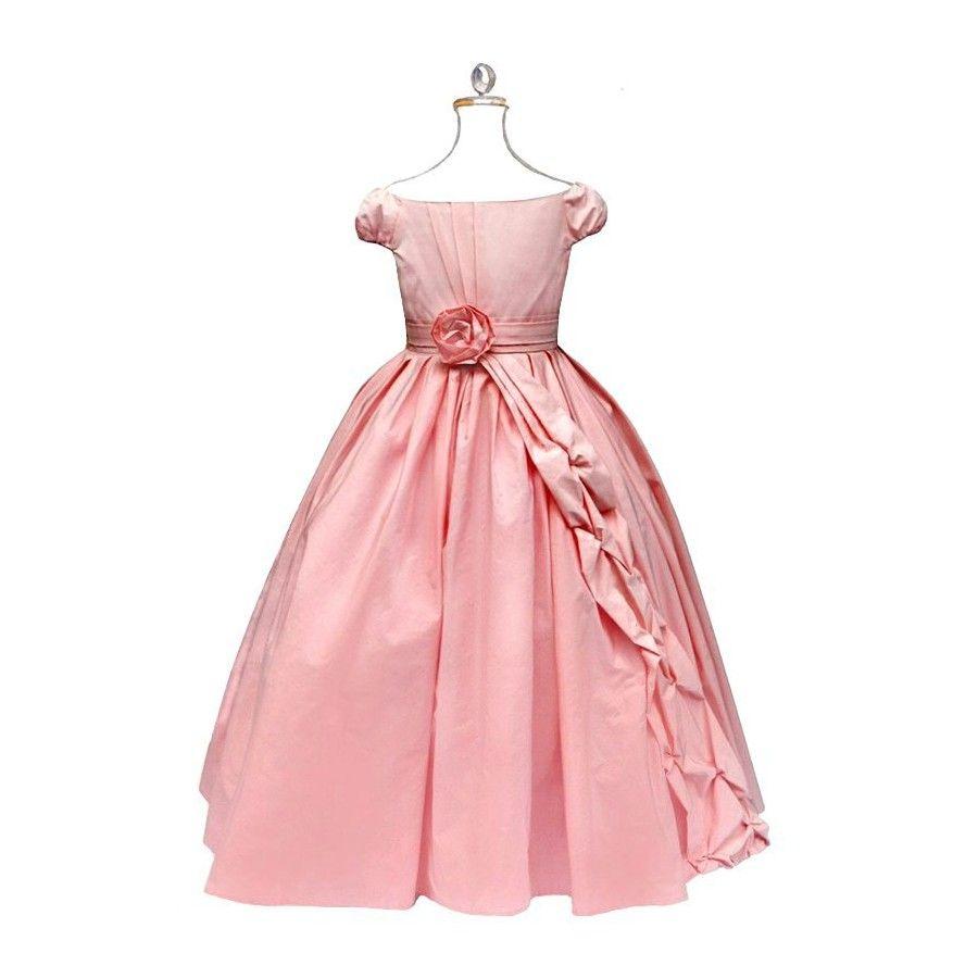 Deguisement De Fete D Enfants Robe De Bal Rose Robe De Bal Robe De Bal Rose Idees Vestimentaires