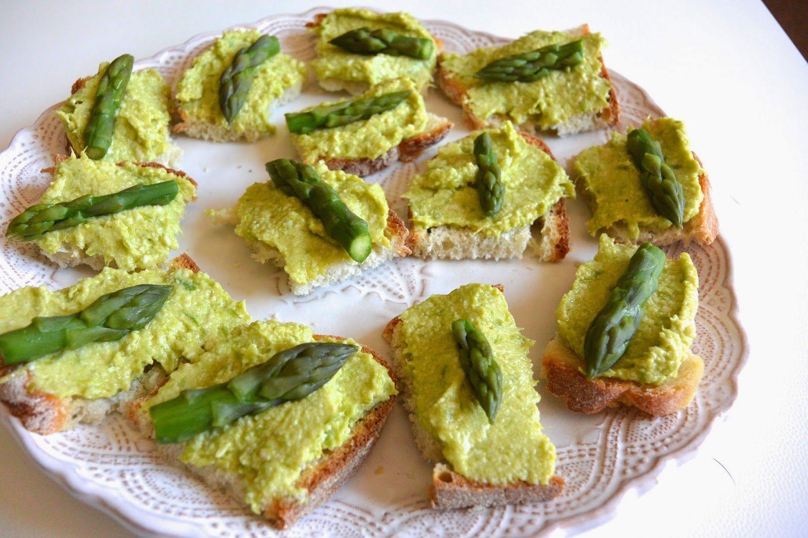 pesto di asparagi per tartine vegetariane