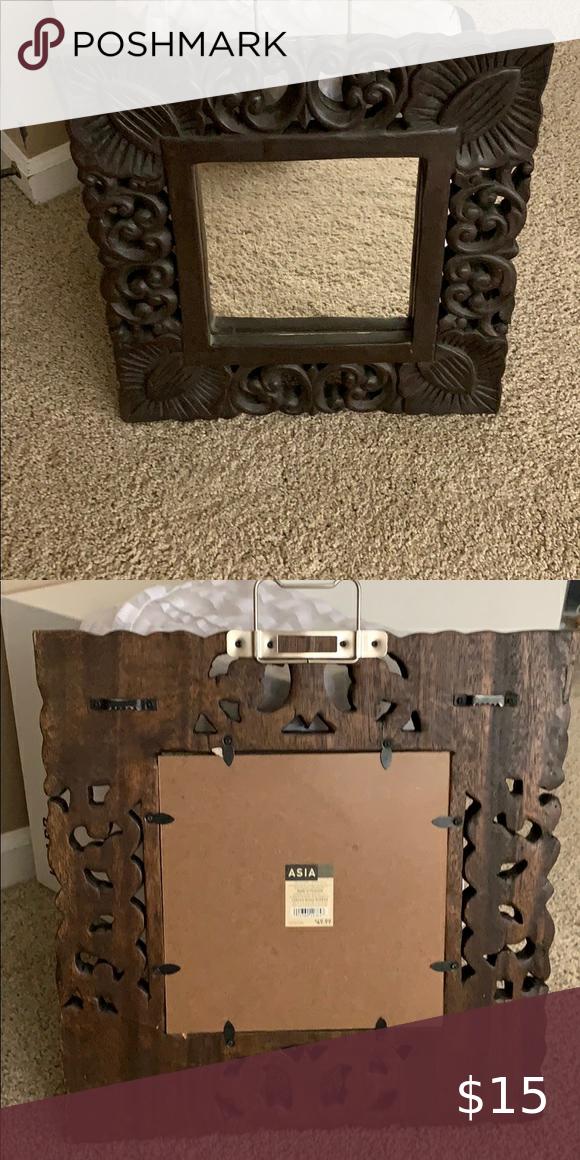 Carved Wood Mirror, Carved Wood Mirror Target