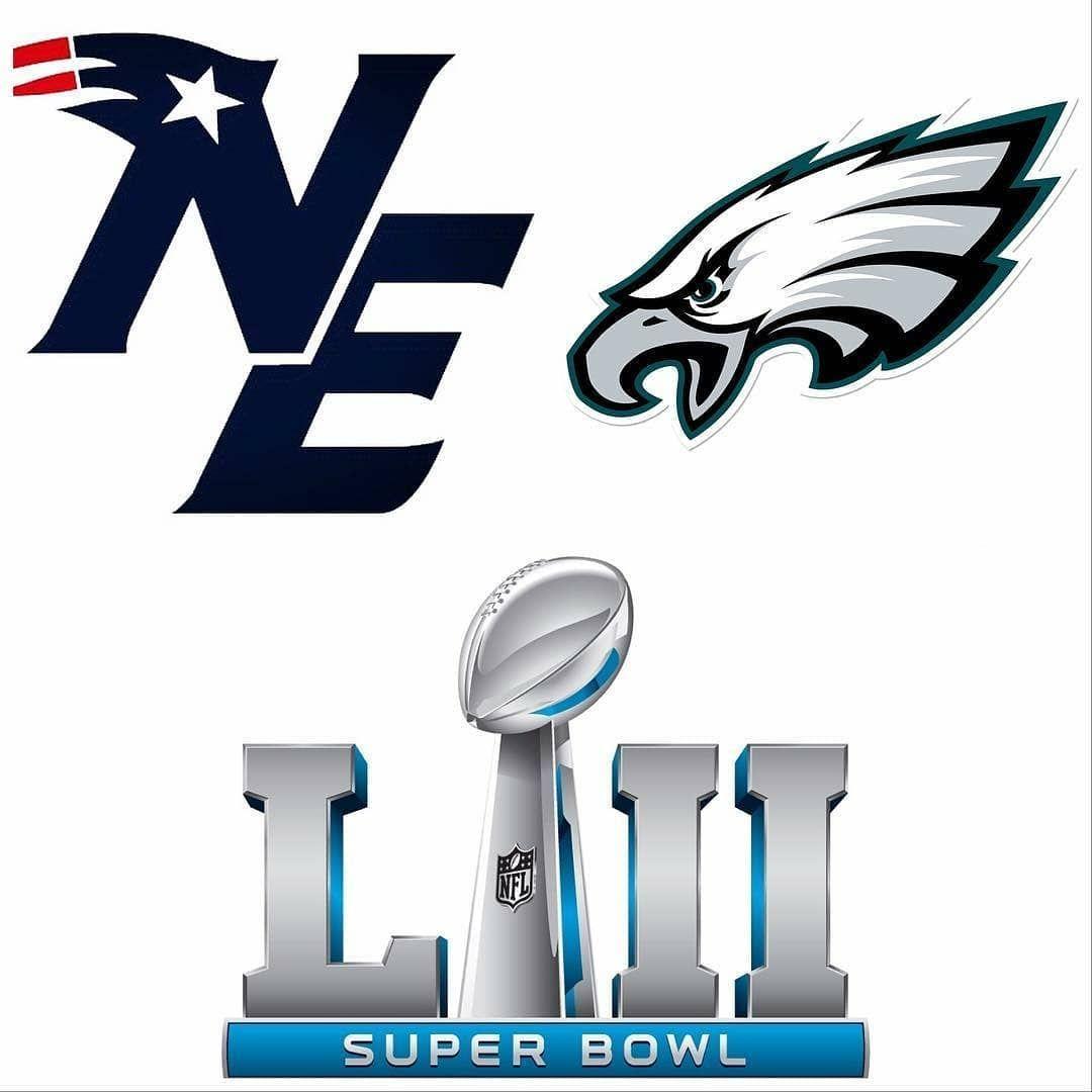 patriots vs philadelphiaeagles in super bowl 52 who you got rh pinterest co uk super bowl clip art 2016 superbowl clip art 2017