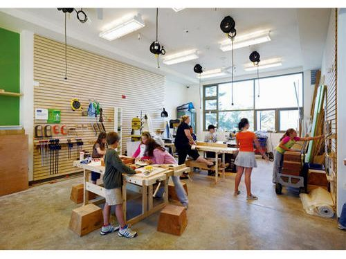 Innovative Elementary Classroom Ideas ~ The nueva school source metropolis magazine photo by