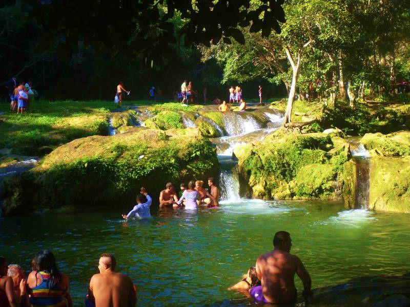 Piscinas Naturales En Los Baños Del San Juan Las Terrazas