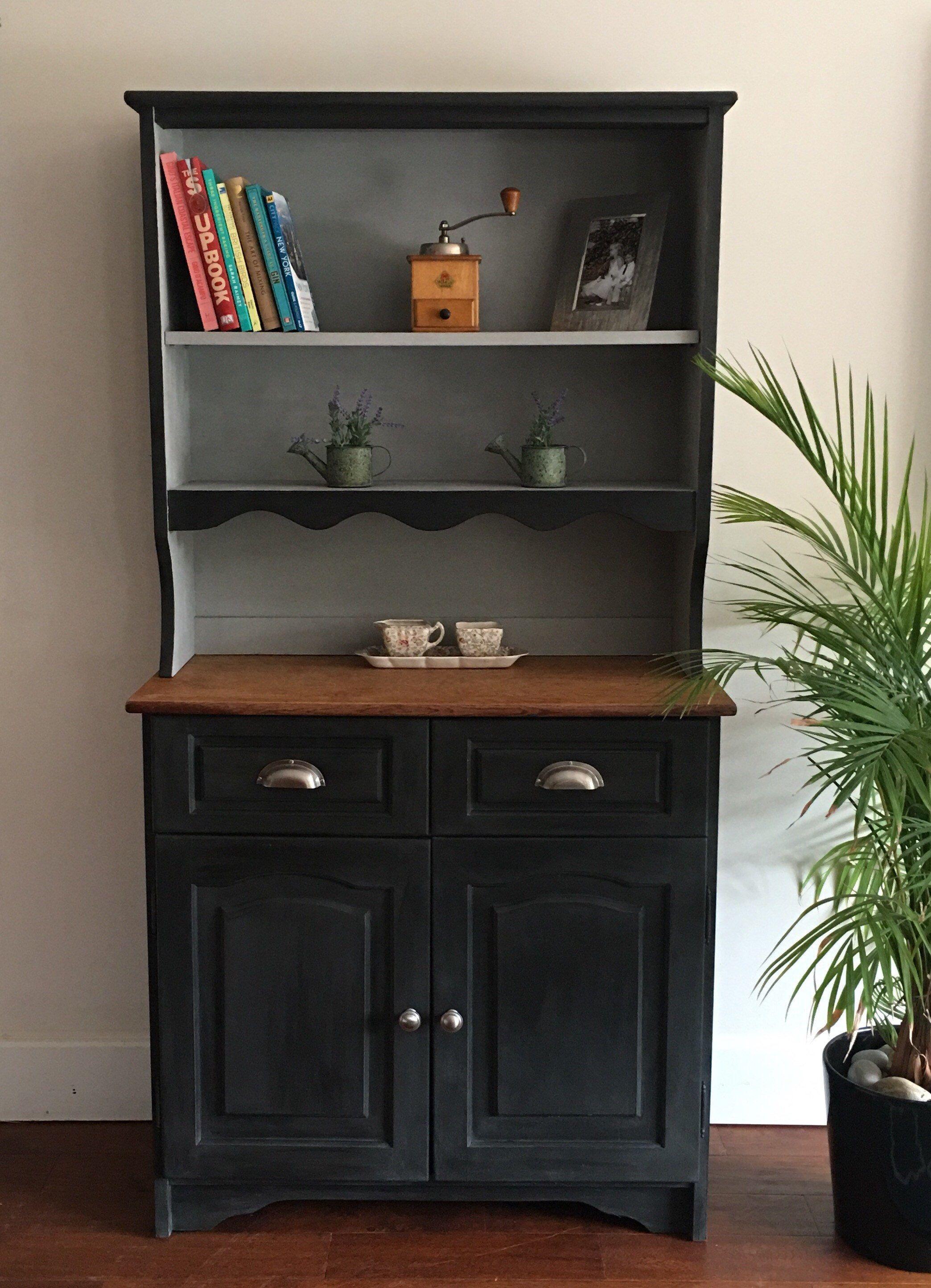 Best Nowsold Vintage Grey Small Oak Dresser For Living Room 400 x 300
