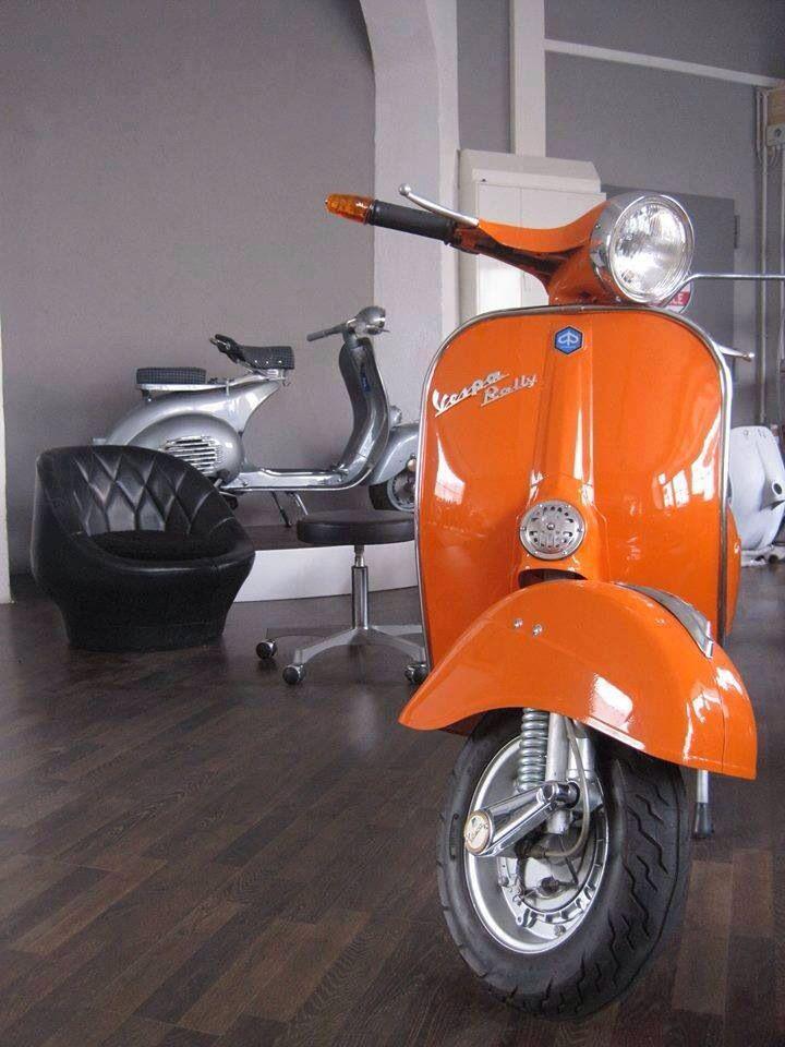 Vespa at home http://www.shutterstock.com/?rid=1525961