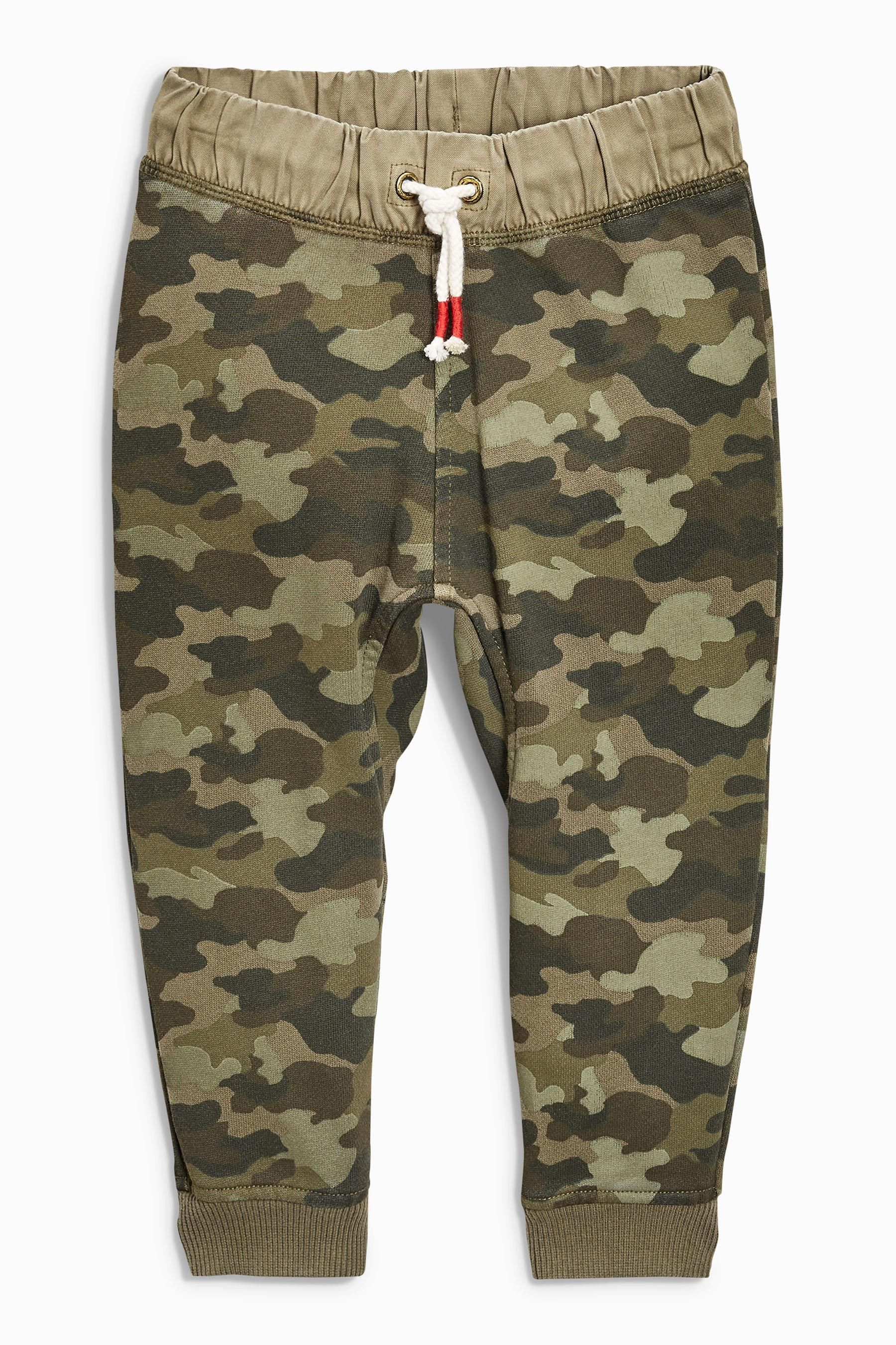 e9bae3f1b09 Buy Khaki Camo Waistband Joggers (3mths-6yrs) from the Next UK online shop