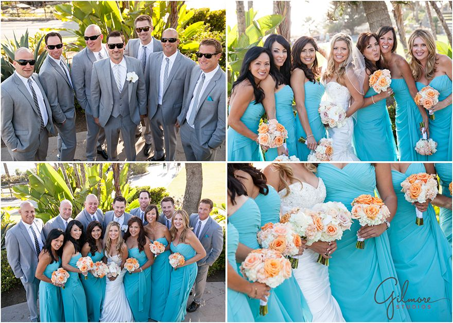 fall bridal party pictures%0A Jeremy   Olivia u    s wedding photography   Tivoli Terrace  Laguna Beach   rings  his