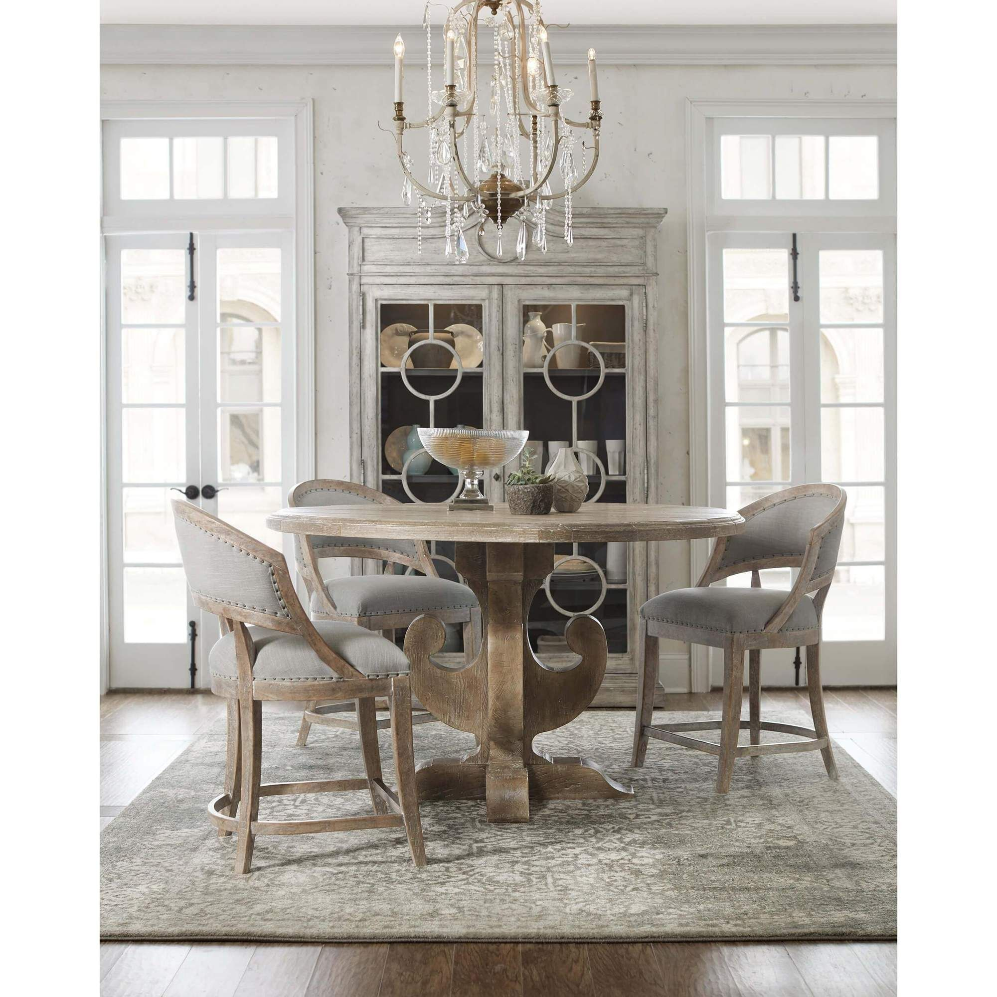 Boheme Ascension Wood Round Dining Table Round Dining Room Table Round Wood Dining Table Round Dining Room
