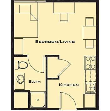 Small Studio Apartment Floor Plans Home Future Students