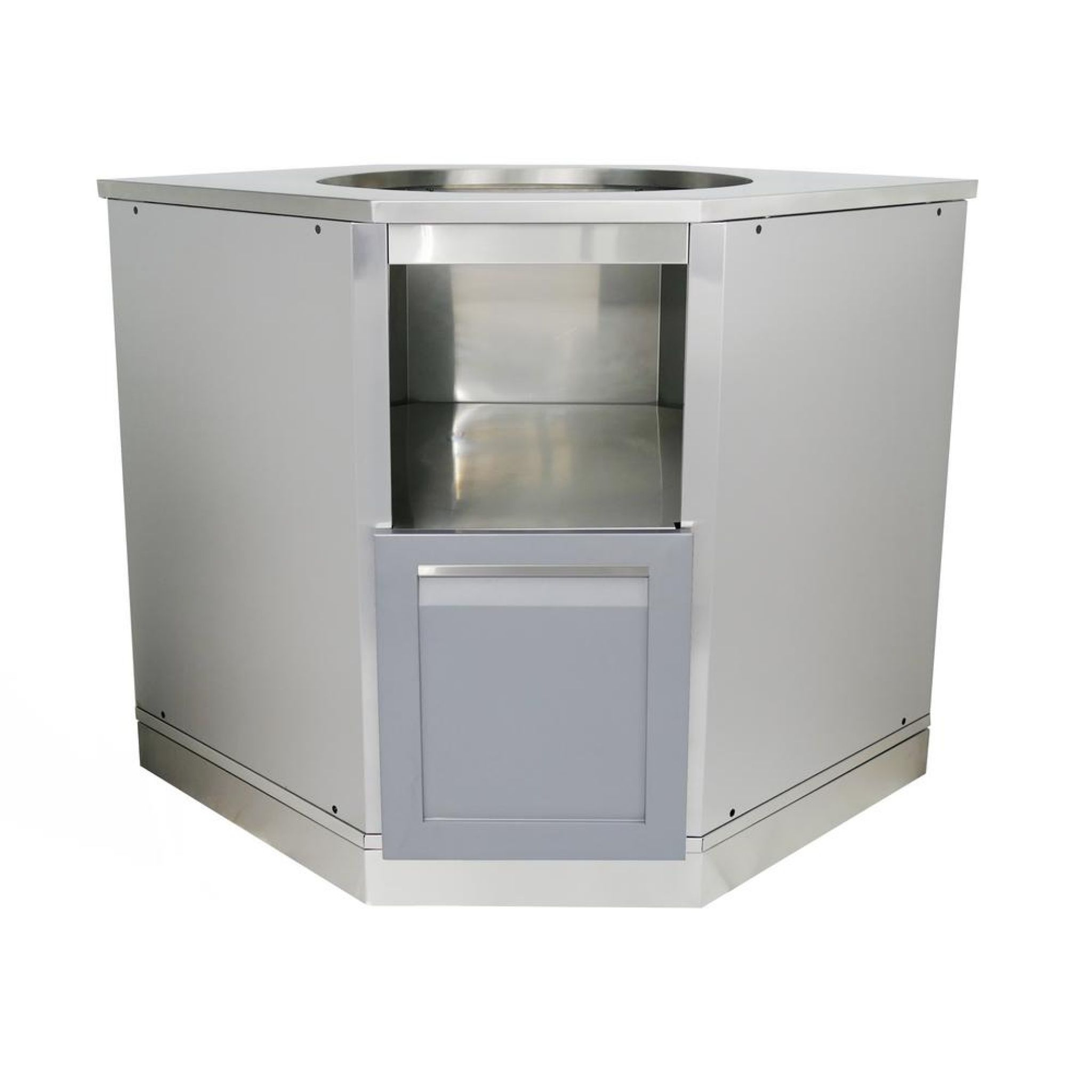 stainless steel outdoor kitchen cabinets interior house paint rh pinterest com