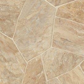 Vinyl Flooring Tarkett Vinyl Sheet Colonial Flagstone Taupe