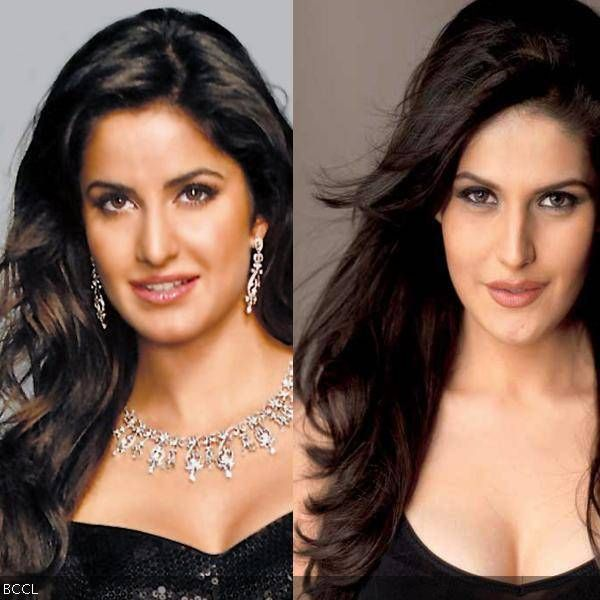 Zarine Khan Was In The News For Her Resemblance With B Wood Beauty Katrina Kaif And Was The Leading Lady In Salman Khan S Dre Celebs Look Alike Celebrity Twins