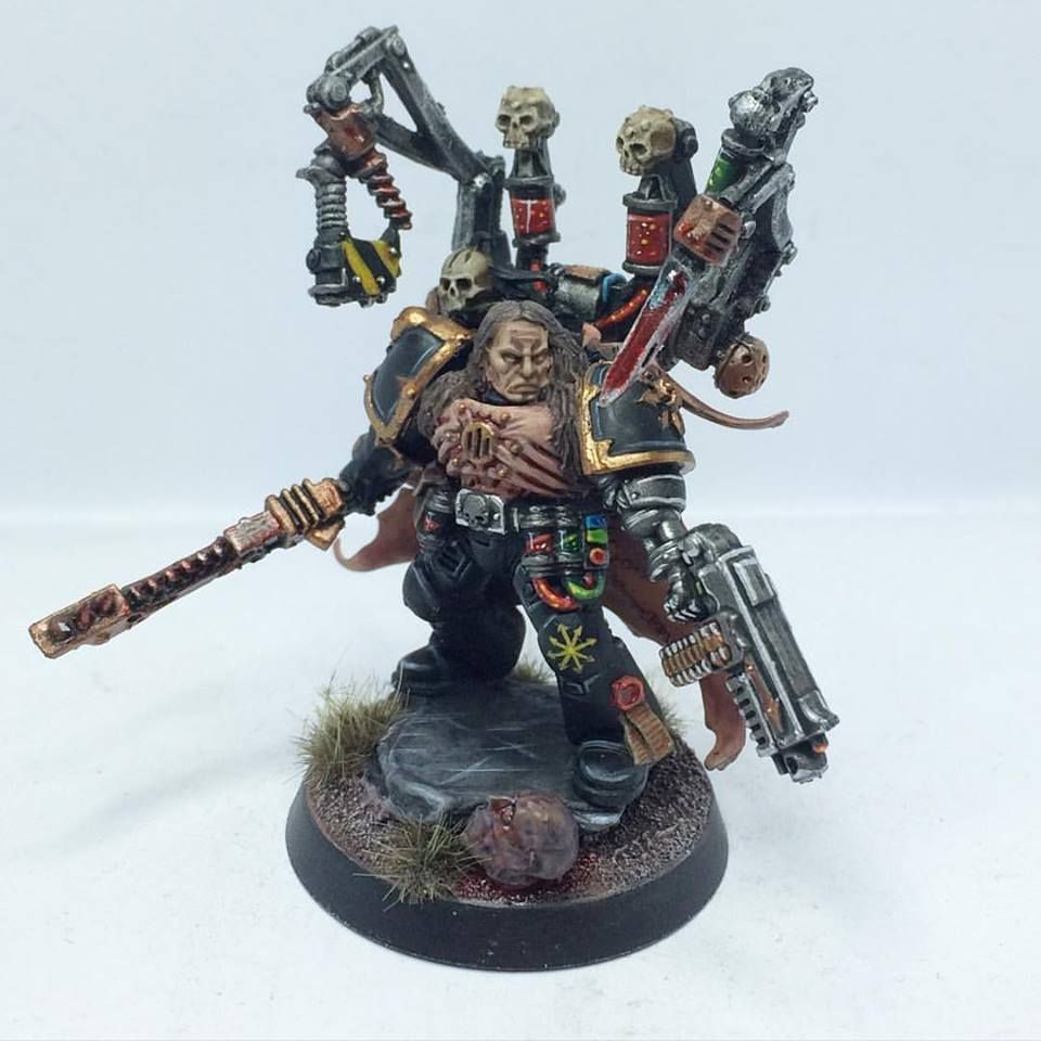 Chaos Space Marines Apothecary #csm #40k #wh40k