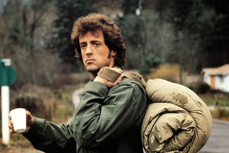 Ten c field jacket military green | Rambo, Sylvester stallone rambo,  Estrela de cinema