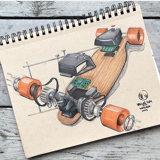 #industrialdesign Скетчинг Рисование Дизайн on Instagram: Скетч от @joost.vanleeuwen #ID #sketching #idsketching #product #productdesign #concept #sketch #designsketching #design #drawing #idea
