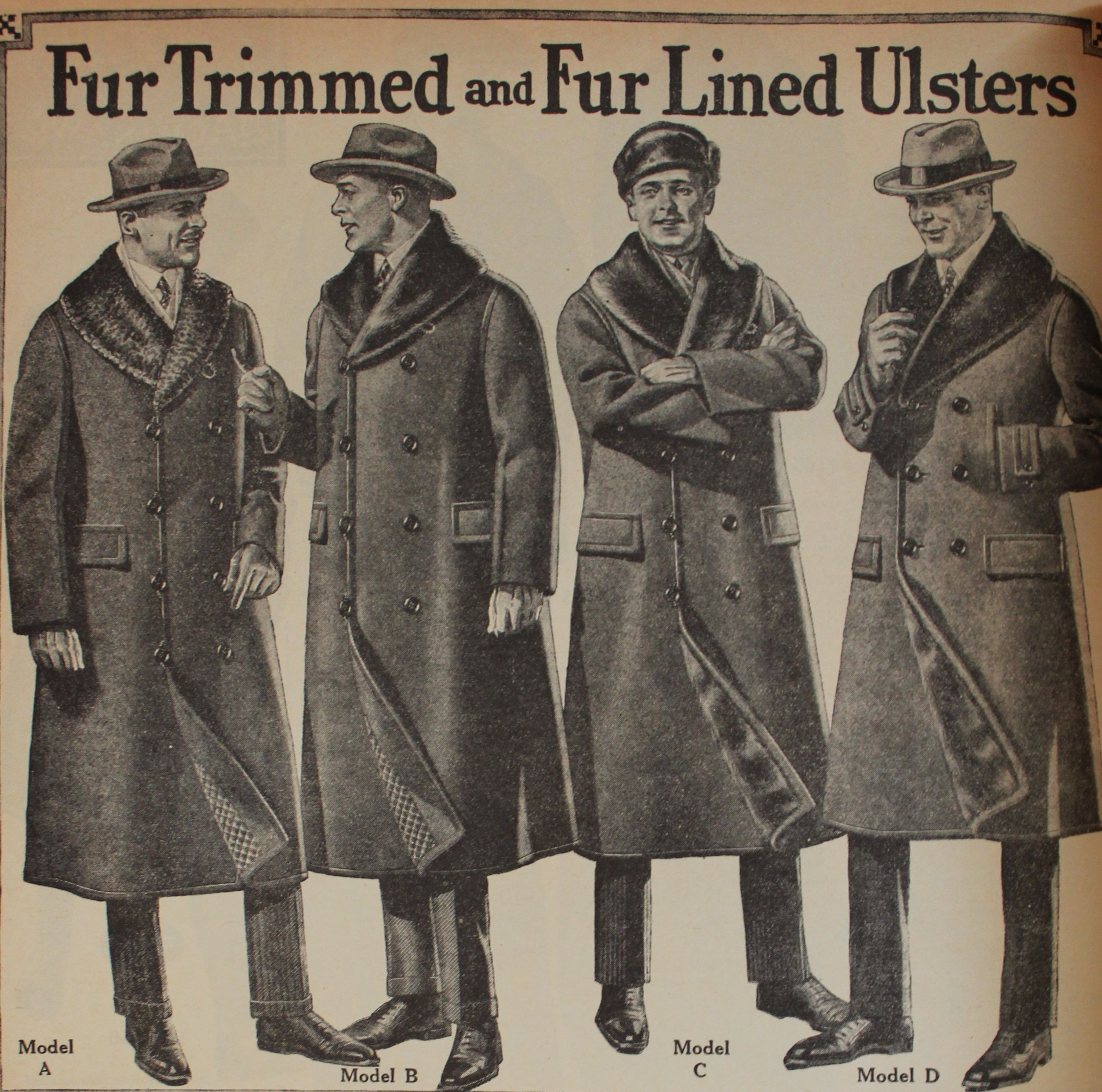1920s Mens Coats & Jackets History | Wwi, Trench and Originals