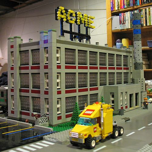 ACME Industries Factory   Lego, Lego models and Lego ideas