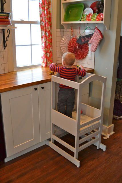 a homemade kitchen helper tower for henry diy ideas kitchen rh pinterest com