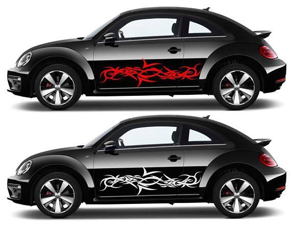 Tribal car decal sticker street racing decal large tribal car