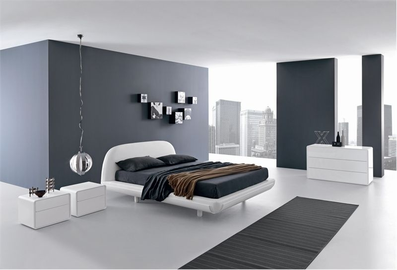 Minimalist bed for modern bedroom fusion by presotto digsdigs modern bedroom