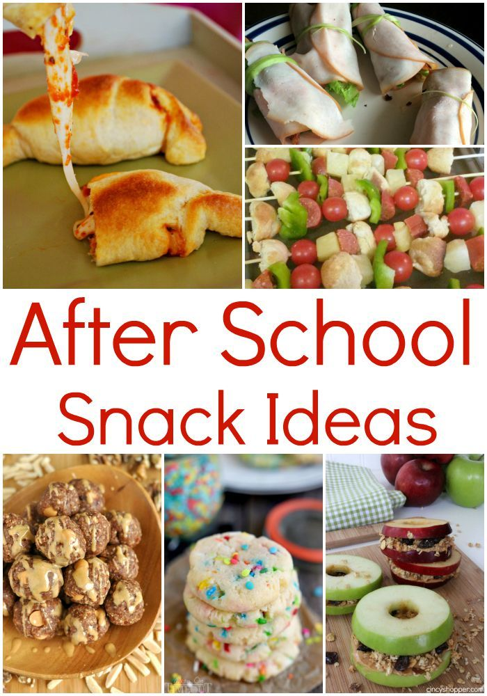 After School Snack Ideas for Healthy and FUN options for