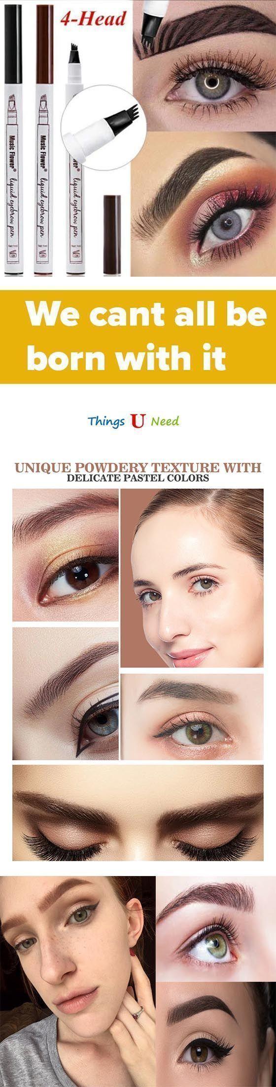 Microblading Eyebrow Pen Sparseeyebrows Verwandeln Sie Sparliche