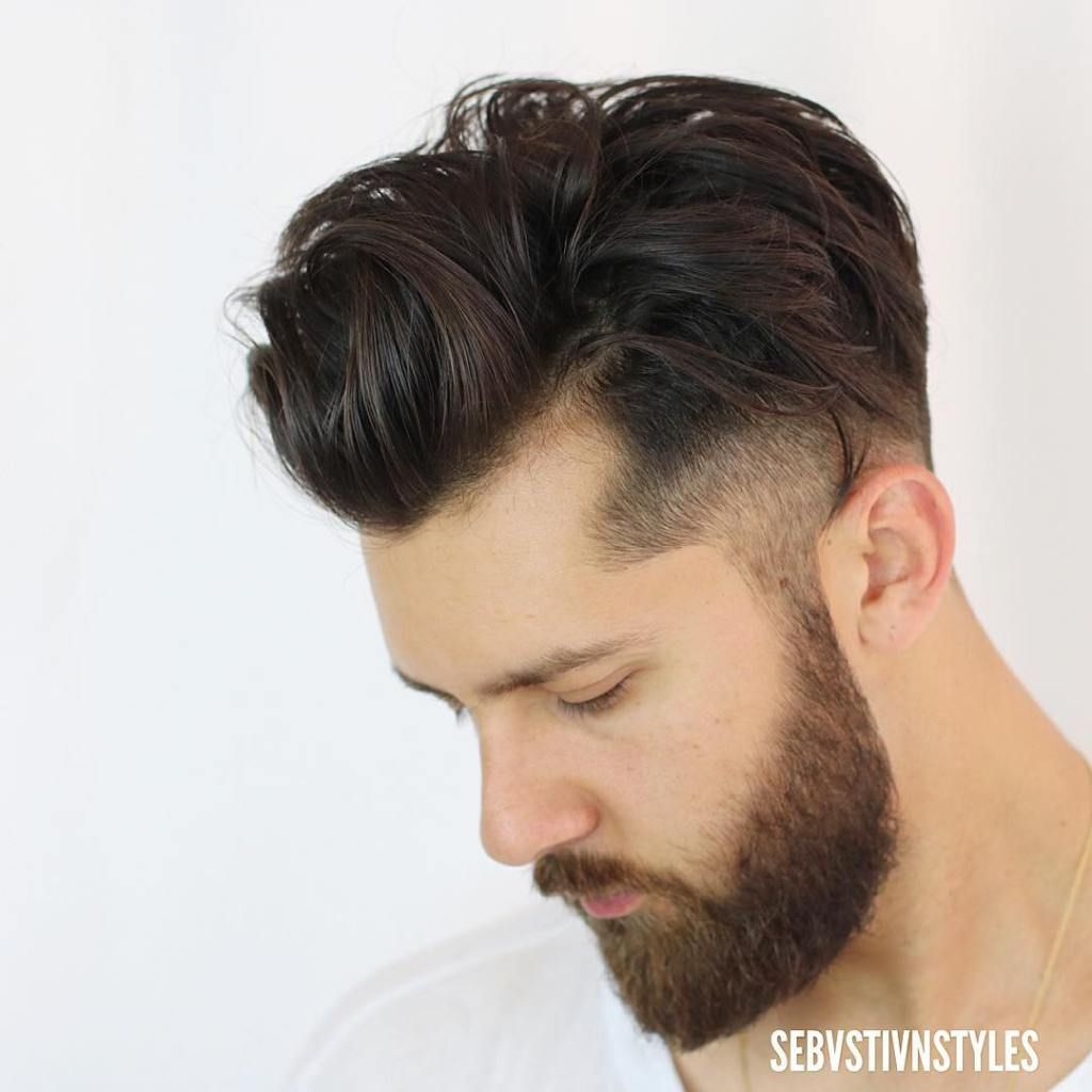 best men's haircuts + hairstyles for a receding hairline