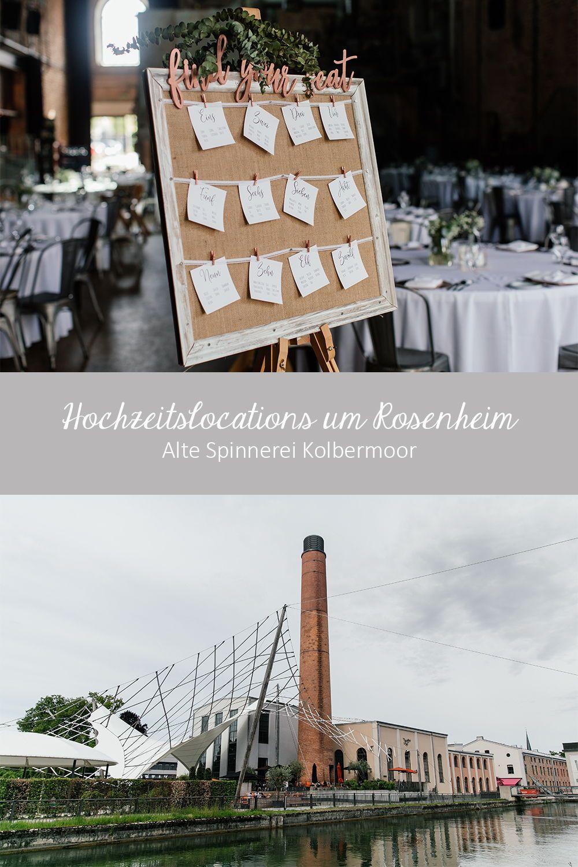Hochzeitslocations Um Rosenheim Die Alte Spinnerei In Kolbermoor Bietet Alles Fur Eine Hochzeit Im Industrial Look Hochzeitslocation Spinnerei Sommerhochzeit