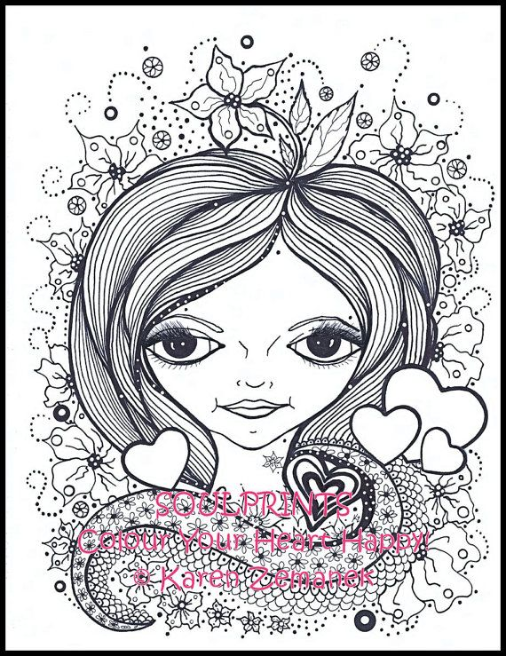 Adult Colouring Page; Teen Coloring Page; Printable Coloring Page ...
