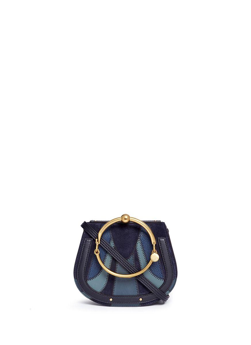 cdb819d7cd Chloe Blue Suede Bag