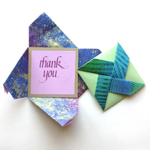 Modular Origami Tutorial: Pinwheel Star (Dáša Ševerová) - YouTube | 500x500