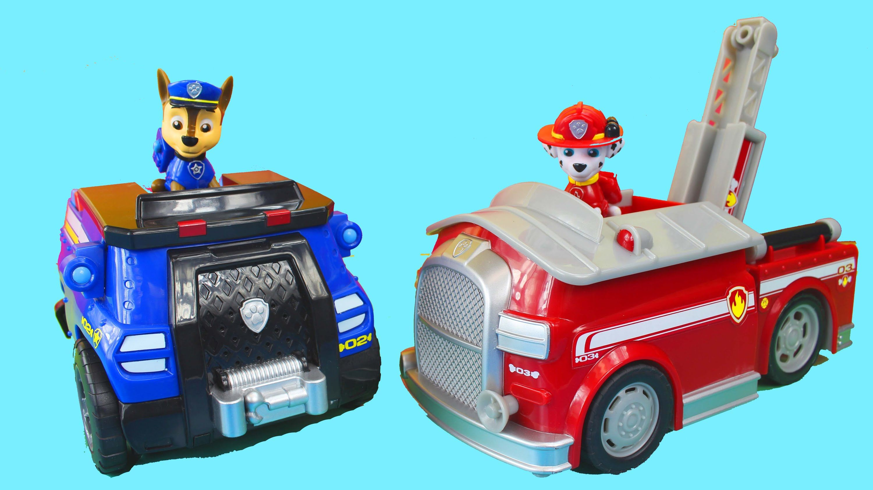 Paw Patrol-Chase and Marshall | Nate\'s Play shop | Pinterest