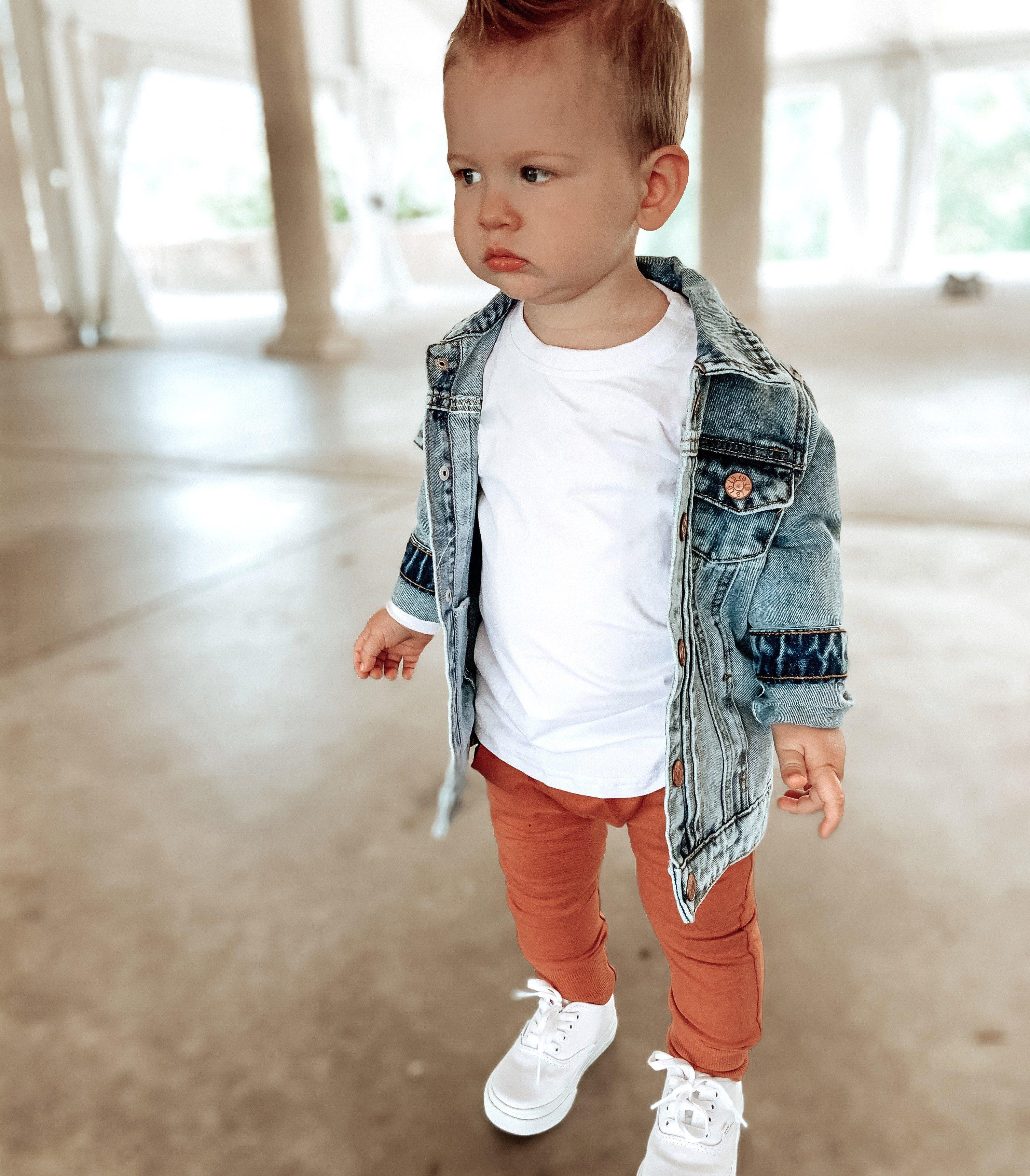 Denim Jacket In 2021 Cute Baby Boy Outfits Cute Boy Outfits Stylish Baby Boy Outfits [ 3443 x 3015 Pixel ]
